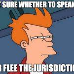 speak-or-flee